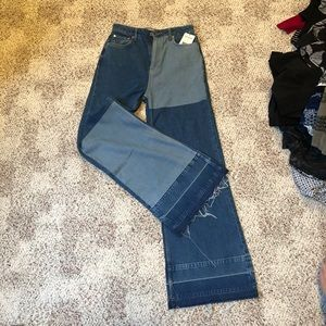 NWT Free People flare jeans 27